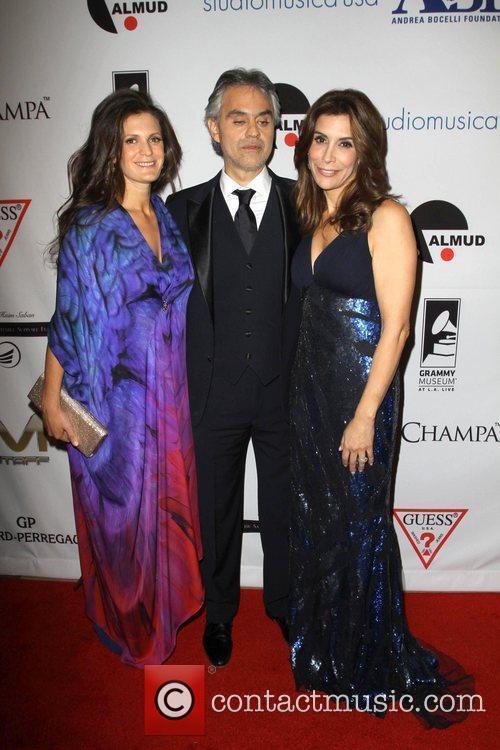 Andrea Bocelli, Jo Champa and Beverly Hilton Hotel 11