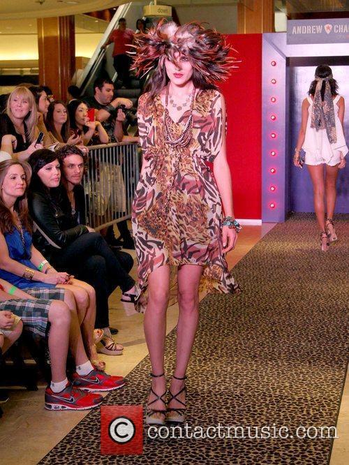 Model, Steven Tyler and Macy's 11
