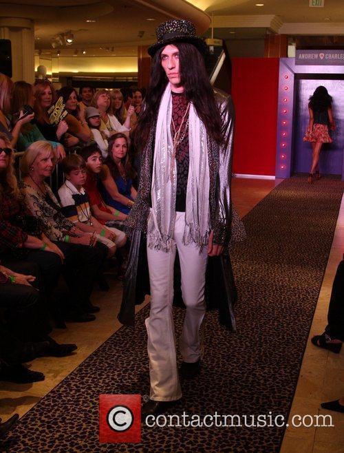 Model, Steven Tyler and Macy's 18