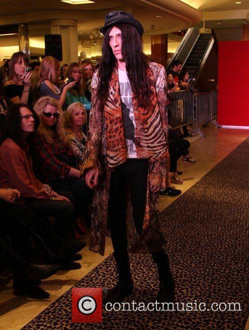 Model, Steven Tyler and Macy's 22