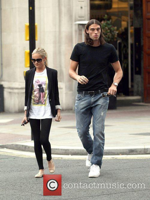 Liverpool striker Andy Carroll leaves the San Carlo...