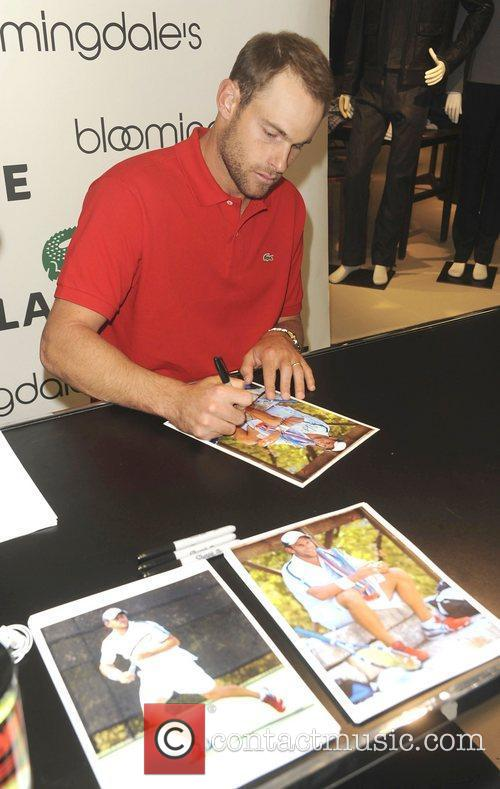 Bloomingdale's 59th St. Welcomes LACOSTE Tennis Champion Andy...