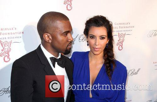 Kim Kardashian, Kanye West and The Angel Ball 5