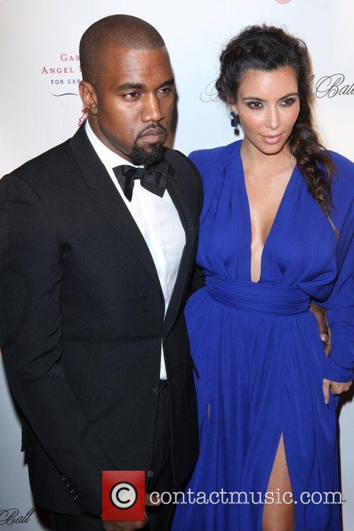 Kim Kardashian, Kanye West and The Angel Ball 9