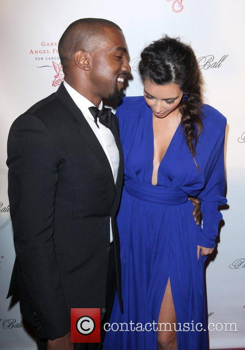 Kim Kardashian, Kanye West and The Angel Ball 8
