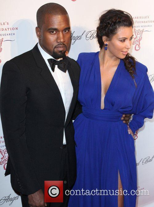 Kim Kardashian, Kanye West and The Angel Ball 4