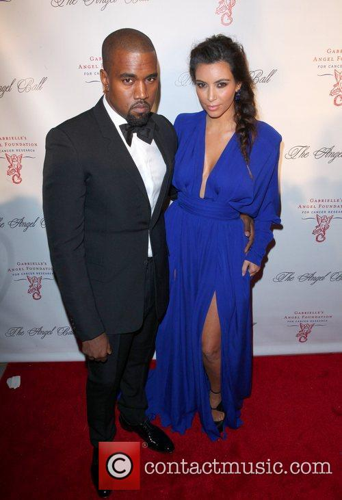 Kim Kardashian, Kanye West and The Angel Ball 6