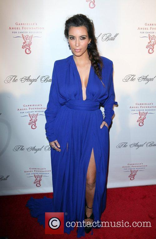Kim Kardashian and The Angel Ball 2