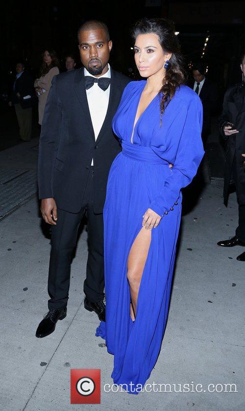 Kim Kardashian, Kanye West and The Angel Ball 10
