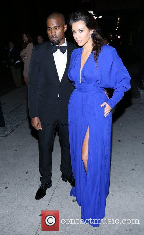 Kim Kardashian, Kanye West and The Angel Ball 9