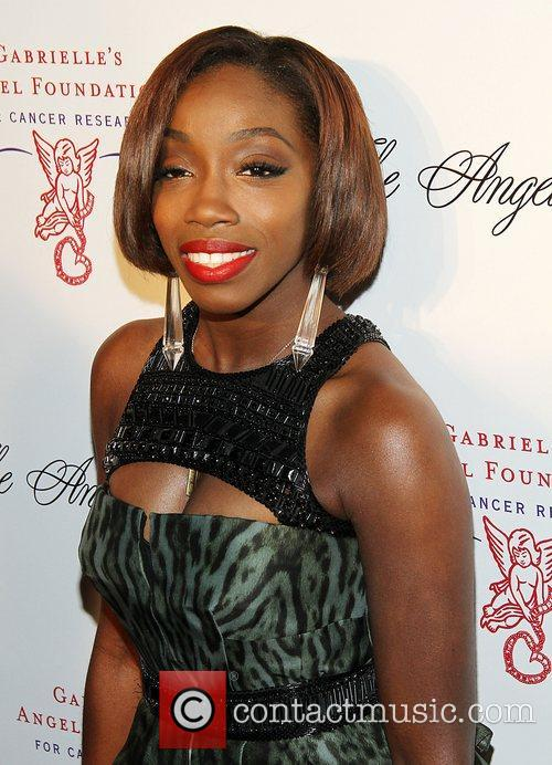 Estelle attend the Angel Ball 2012 at Cirpiani...
