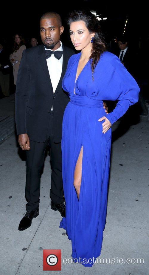 Kim Kardashian, Kanye West and The Angel Ball 11