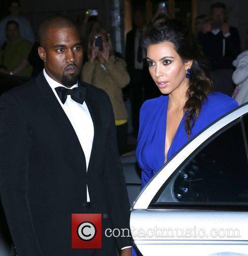 Kim Kardashian, Kanye West and The Angel Ball 12