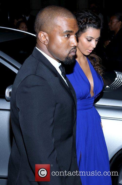 Kim Kardashian, Kanye West and The Angel Ball 17