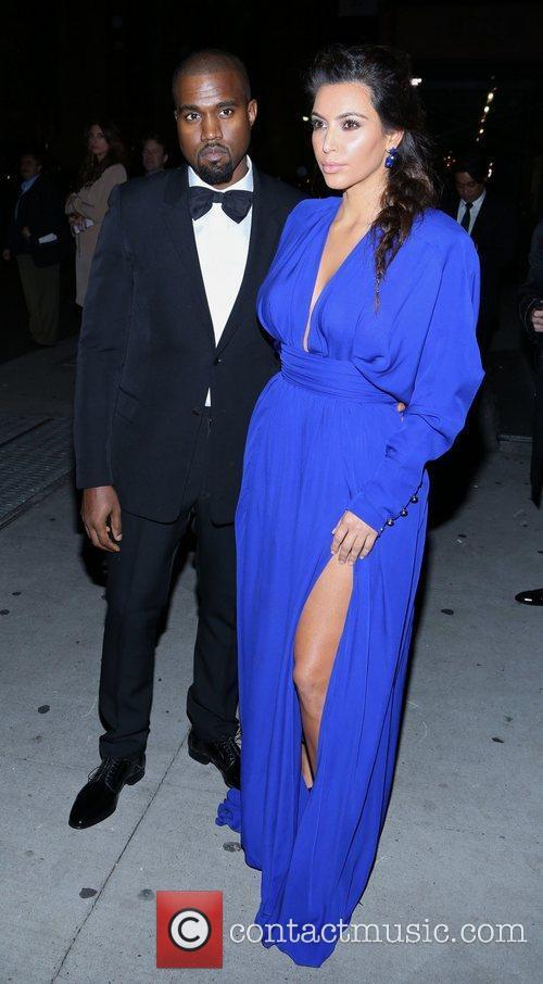 Kim Kardashian, Kanye West and The Angel Ball 13