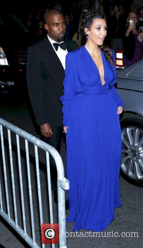 Kim Kardashian, Kanye West, The Angel Ball