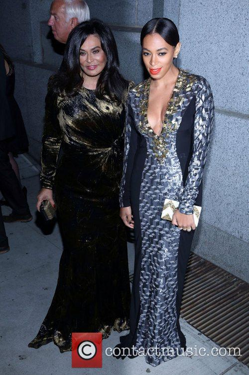Tina Knowles, Solange Knowles and The Angel Ball 1