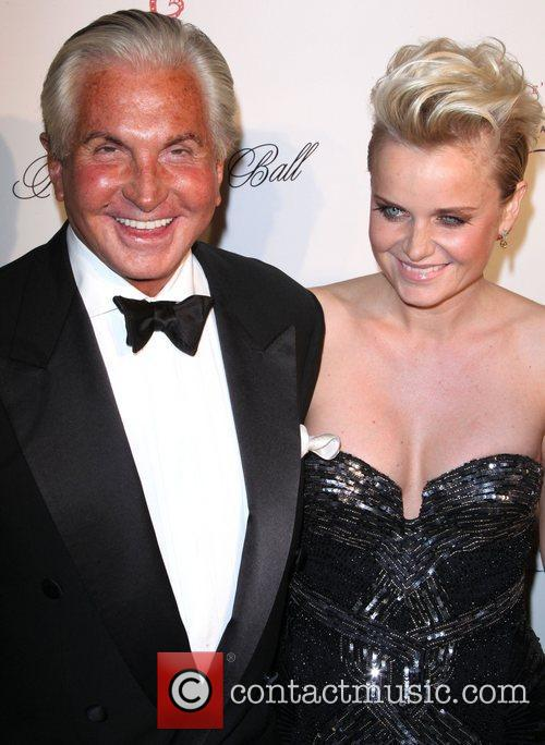 george hamilton the angel ball 2012 at 4139776