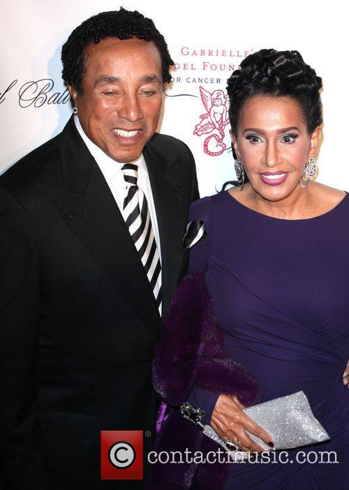 Smokey Robinson, Claudette Rog and The Angel Ball 2