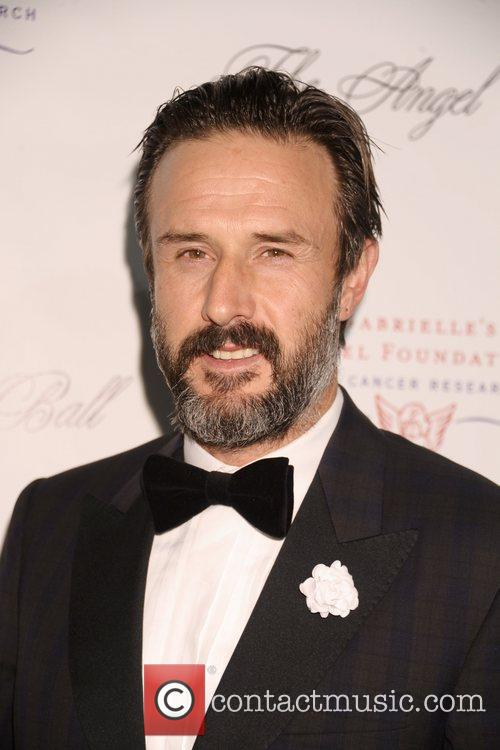 David Arquette The Angel Ball 2012 at CiprianiWall...