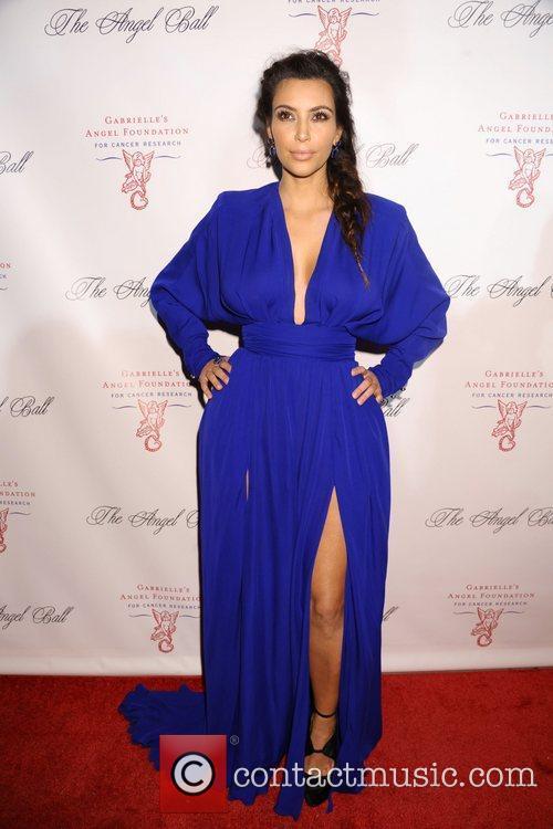 Kim Kardashian The Angel Ball 2012 at CiprianiWall...