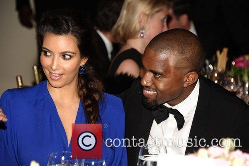 Kim Kardashian, Kanye West and The Angel Ball 1