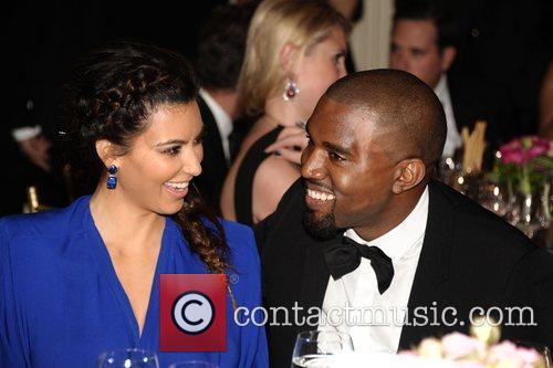 Kim Kardashian, Kanye West and The Angel Ball 5