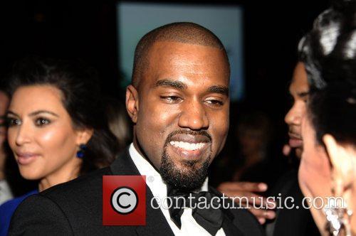 Kim Kardashian and Kanye West The Angel Ball...