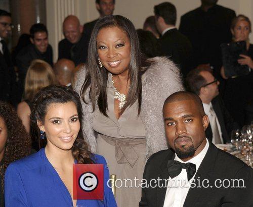 Kim Kardashian, Star Jones, Kanye West and The Angel Ball 6