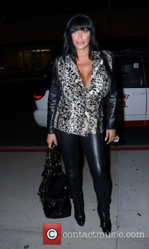 'Mob Wives' star Angela Big Ang Raiola outside...