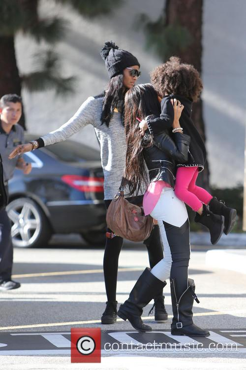 angela simmons arriving at saks on fifth 20024683