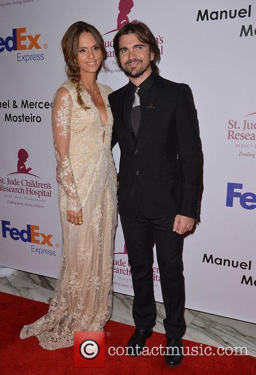 Karen Martinez and Juanes  The St. Jude...