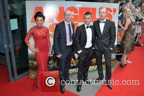 UK premiere of 'The Angel's Share' at Cineworld...