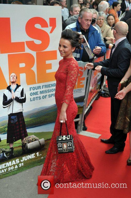 Jasmin Riggins UK premiere of 'The Angel's Share'...