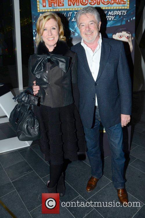 Moya Doherty, John McColgan Guests arrive for the...