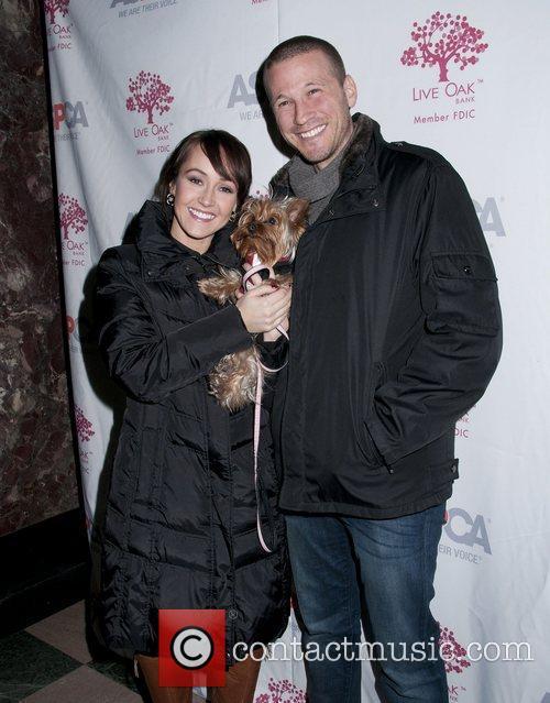 Ashley Hebert, and her dog BOO, J.P. Rosenbaum...