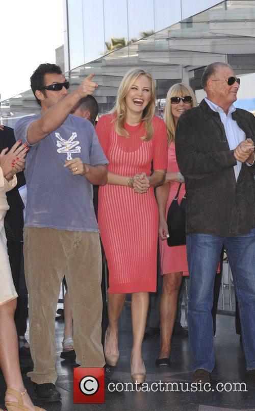 Adam Sandler, Malin Akerman and Star On The Hollywood Walk Of Fame 2
