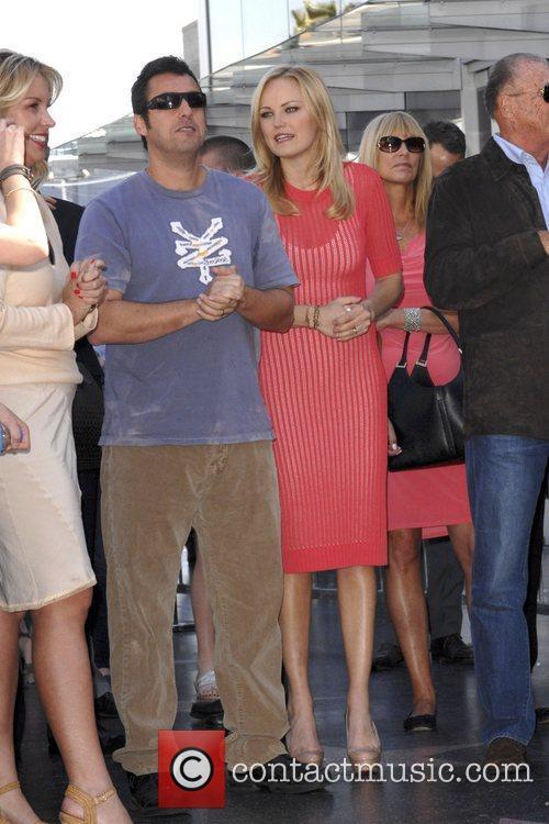 Adam Sandler, Malin Akerman and Star On The Hollywood Walk Of Fame 3