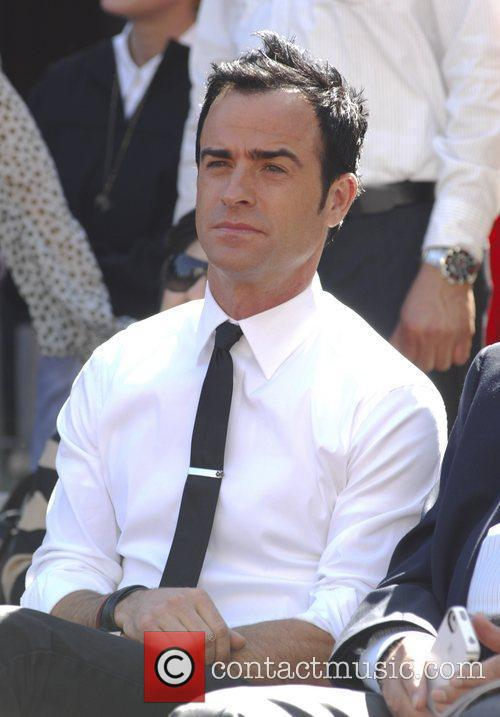 Justin Theroux and Star On The Hollywood Walk Of Fame 2