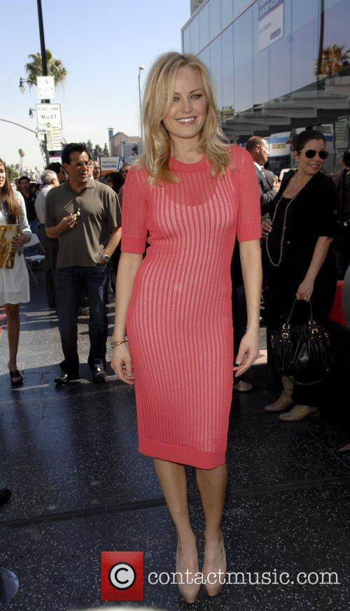 Malin Akerman and Star On The Hollywood Walk Of Fame 3