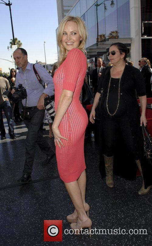 Malin Akerman and Star On The Hollywood Walk Of Fame 4