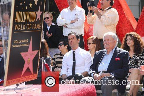 Justin Theroux and Star On The Hollywood Walk Of Fame 4