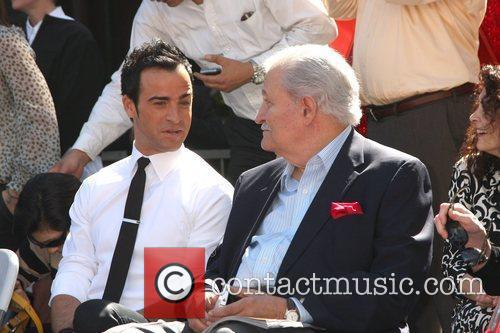 Justin Theroux and Star On The Hollywood Walk Of Fame 1