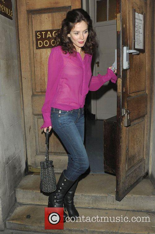 Anna Friel, Vaudeville Theatre and Uncle Vanya 5