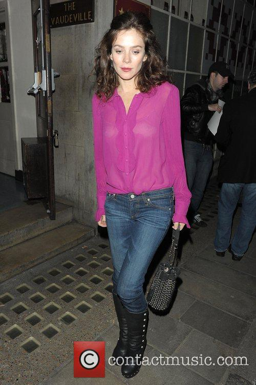 Anna Friel, Vaudeville Theatre and Uncle Vanya 4