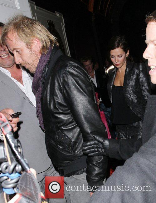 Anna Friel and Rhys Iffans at Sketch nightclub