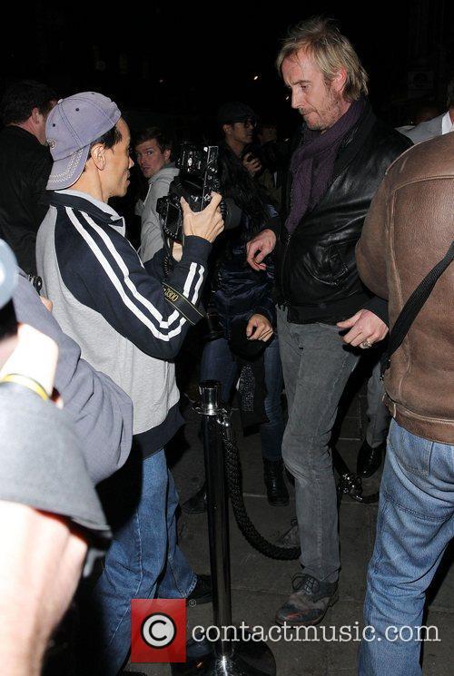 Rhys Iffans at Sketch nightclub