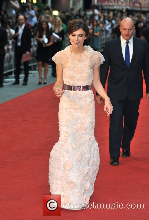 Keira Knightley and Odeon Leicester Square 8