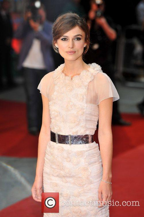 Keira Knightley and Odeon Leicester Square 12