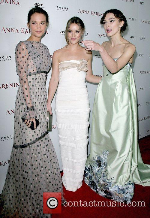 Alicia Vikander, Guro Schia and Keira Knightley 2